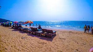 GOA days pic #anjuna beach