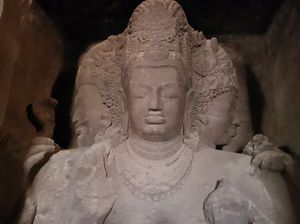 Elephanta caves from Mumbai, needs to be explored more.