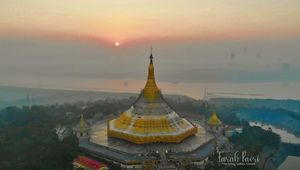 Global Vipassana Pagoda, Day trip in Mumbai