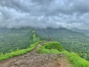 A trek is memorable when u have created your own route & reached your Destination #BestofMaharashtra