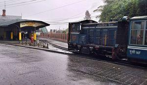 India's highest railway station.