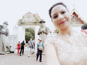 First Solo International trip# Buddha Temples  #SelfieWithAView #TripotoCommunity