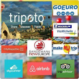 A few helpful Apps for Eurotrip Planning !