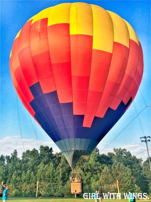 Romantic yet Adventuresome, Hot Air Balloon Ride. #adventureactivity