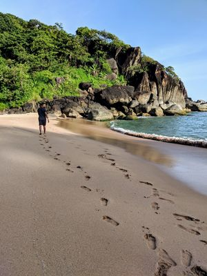 Butterfly beach. Another hidden gem in palolem. Just you and your loneliness. Take a chill pill