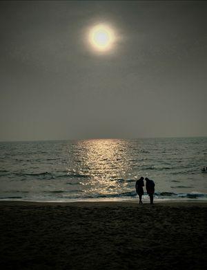Cherai beach... Phone click...
