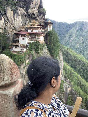 Tigers nest- Paro,Bhutan! #SelfieWithAView #tripotocommunity