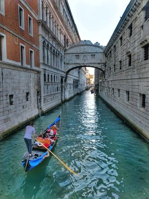 Place Where Canals Replace Roads and Gondolas Create Traffic !