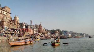 ghats of Ganges