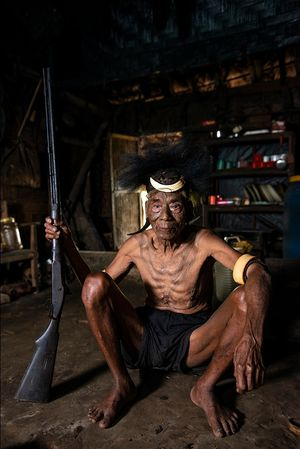 Head Hunters, konyak Tribe - Nagaland  The Last Avatar Project