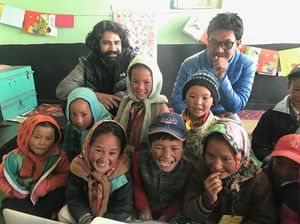 The Last Avatar Art Workshop in Hikkim, Spiti Govt School