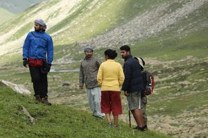 Trekking towards Famber Valley Kishtwar