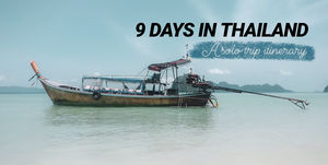 9 days in Thailand : A solo trip itinerary #thailandinpictures