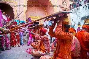 Barsana - Lathmaar Holi