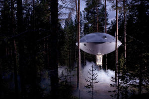 This is not a drill: You can now stay in a UFO!