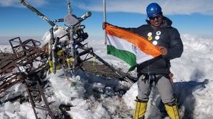 Indian mountaineer Satyarup Siddhanta becomes the youngest to climb 7 peaks and 7 volcano summits