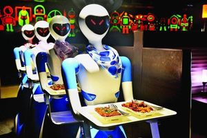 This Restaurant In Chennai Has Robots Serving You Food And Communicating In Tamil and English!