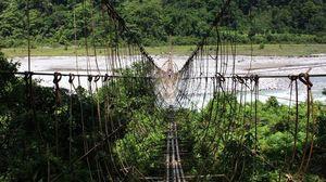Damro: The village with the longest hanging bridge in Arunachal Pradesh
