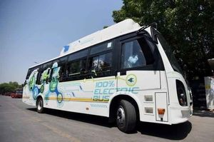 Vaishno Devi Yatra to Get Greener: State Government Start Electric Buses on Jammu-Katra Route