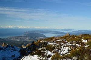 Mount Wellington In Hobart, Tasmania