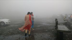 First encounter with the Mist of Lonavala , Maharashtra