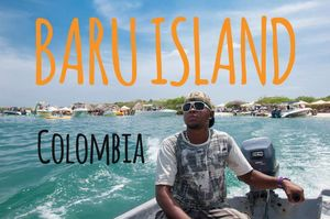 Isla Baru: the Caribbean Coast of COLOMBIA