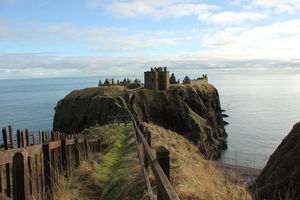 Dunnottar Castle and Stonehaven