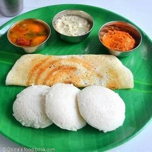 Soft idli and crunch dosa bite from South india