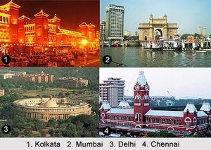 The Four Metro Cities to See in India