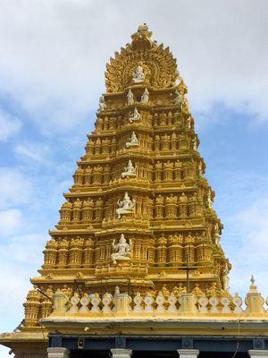 Chamundeshwari Temple 1/2 by Tripoto
