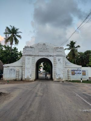 Tranquebar (Tharangambadi)- A small Danish colony, situated just 4 hours away from Chennai, India