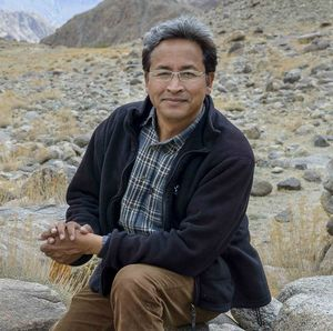 In conversation with the Face behind Artificial Ice Stupas in Ladakh: Sonam Wangchuk