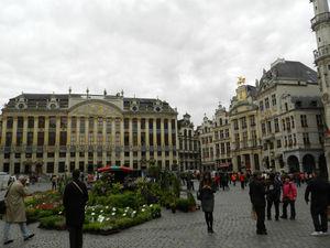 Clinking Glasses: Having Beer In Brussels, Belgium