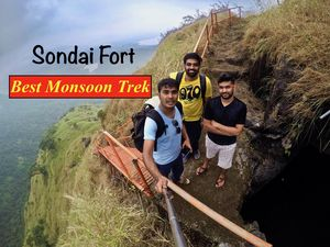 Sondai Fort | Best Monsoon Trekking Place around Mumbai | Pune
