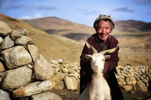 Nomad of a tibetan plateau #besttravelpictures