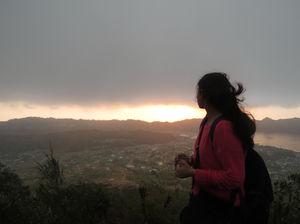 Trekking Over A Volcano
