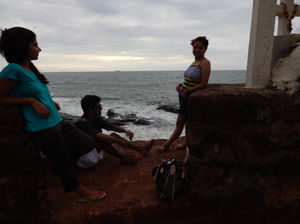 Playing the guide in Goa