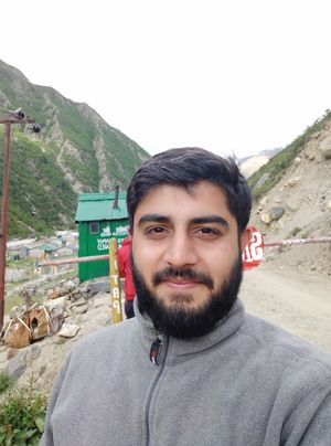 At the first line of defence of Indo Tibet border police in chitkul