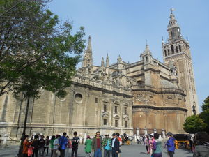 Seville Cathedral 1/3 by Tripoto