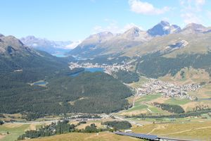 From old town Appenzell to high mountains at St. Moritz