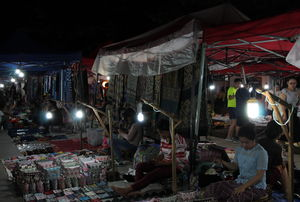 Luang Prabang Night Market 1/undefined by Tripoto