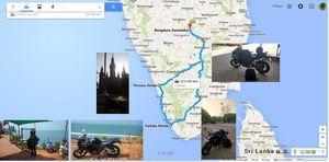 To Varakala, With My Bike