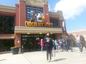 Hershey's Chocolate Factory!