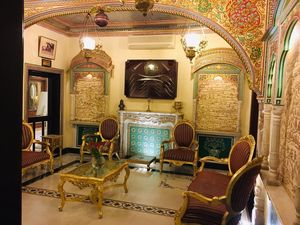When I was the Prince for two days at Shahpura House Jaipur!