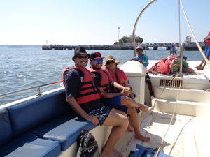 Parasailing from a Private Boat at Dona Paula ,Goa!