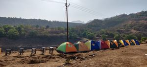 The FireFly Camp at Bhandardara, Maharashtra
