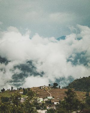 School of clouds! A little school in the village of Sari, Uttarakhand,has  clouds as neighbours.