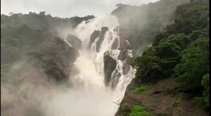 Dudhsagar water falls - The Heaven On the Earth