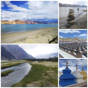 Of sandy mountains and Turquoise blue waters : Leh Ladakh