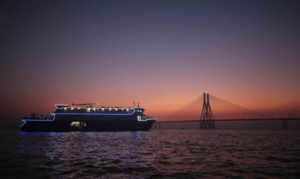 Mumbai Maiden - A jewel cruise in the Arabian sea on Bandra- Worli sea link